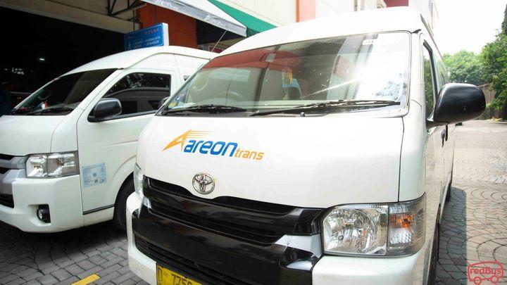 Jakarta To Bandung Areon Trans Bus