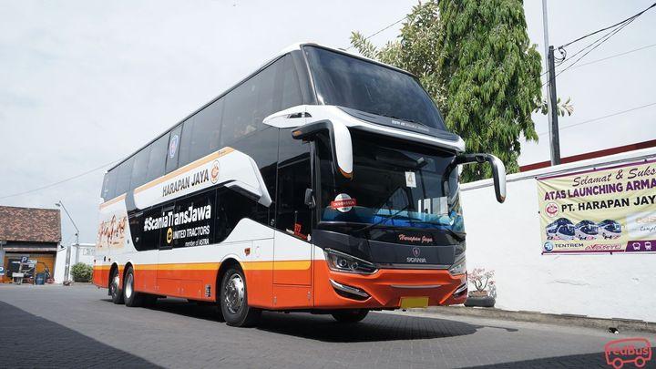 Jakarta To Ngawi Harapan Jaya Bus
