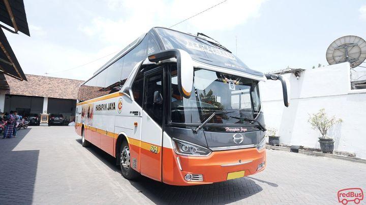 Jakarta To Sragen Harapan Jaya Bus
