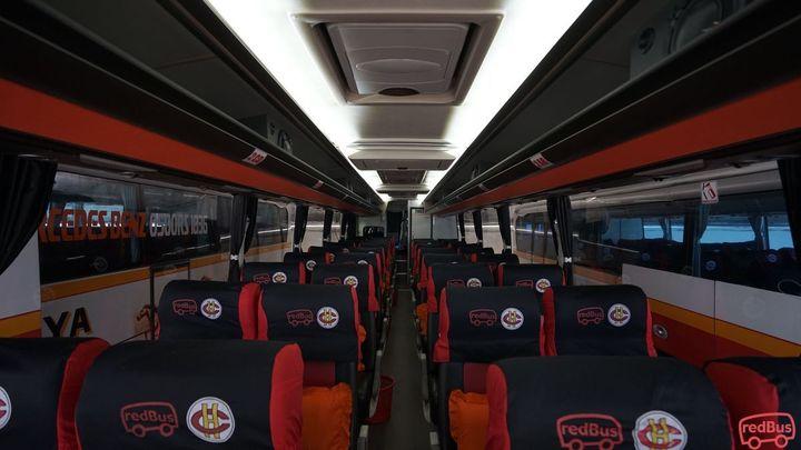 Serang To Tulungagung Harapan Jaya Bus