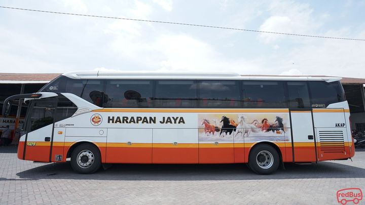 Sragen To Karawang Harapan Jaya Bus