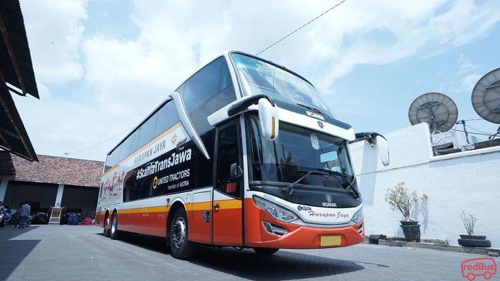 Tangerang To Magetan Harapan Jaya Bus