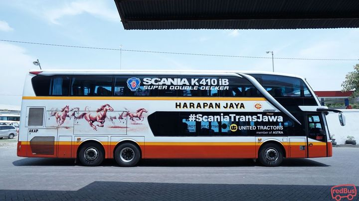 Sragen To Jakarta Harapan Jaya Bus