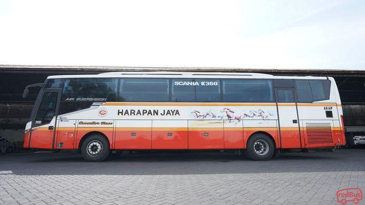 Tulungagung To Bogor Harapan Jaya Bus