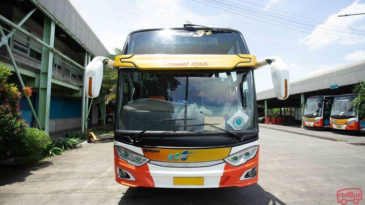 Gresik To Cirebon Kramat Djati Jakarta Bus