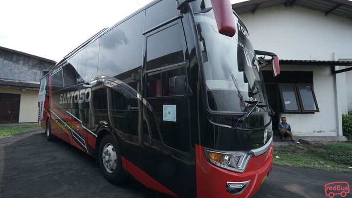 Magelang To Bogor Po Santoso Bus