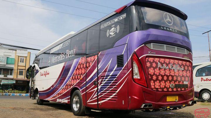 Kiliran Jao To Kepahiang Putra Rafflesia Bus