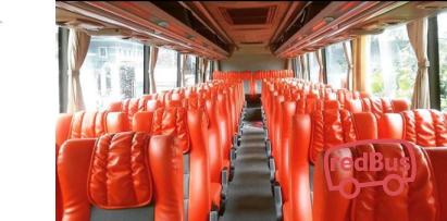 Putra Bangsa Bus Seats