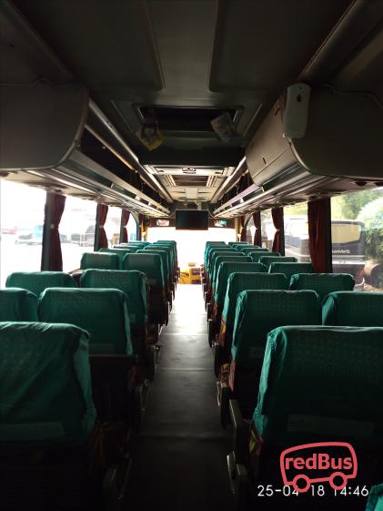 Nusantara Transindo Bus Interiors