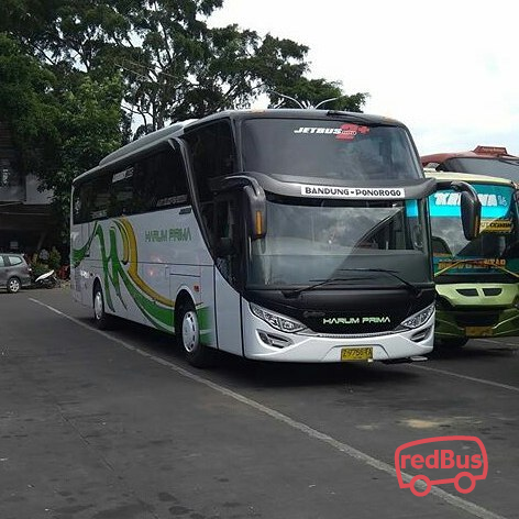 PO Harum Prima Bandung Ponorogo Bus