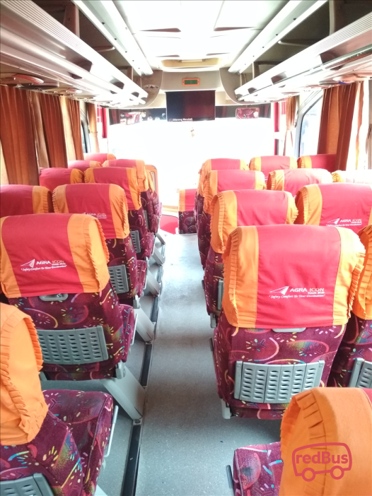 Agra Mas Bus Interiors