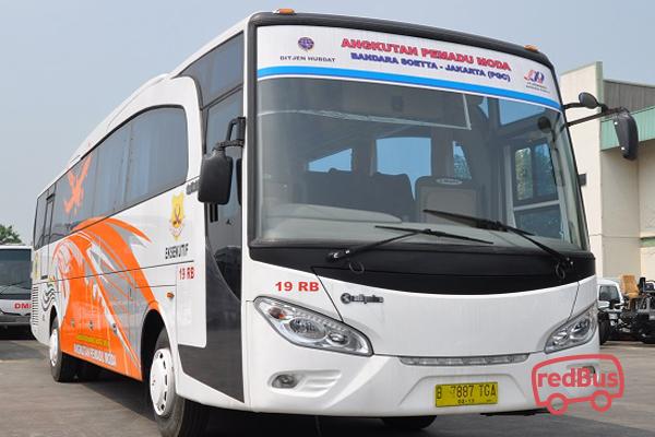 Agra Mas Bandara Jakarta Bus