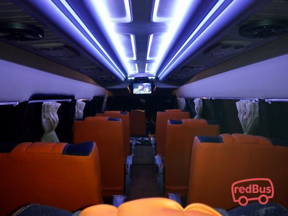 Interior of DB Trans Buses