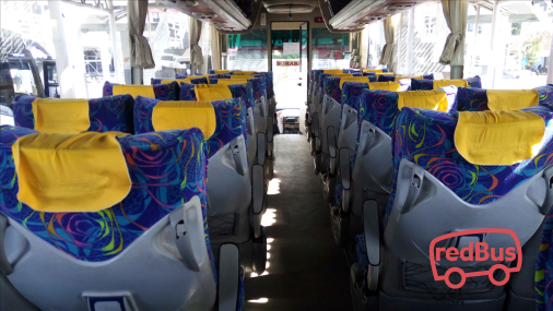 Jaya Utama Bus Seats