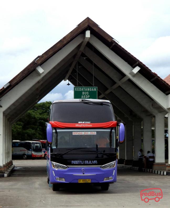 Restu Mulya Denpasar Solo Jogja Bus