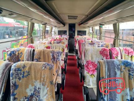 Medan Jaya Bus Interiors