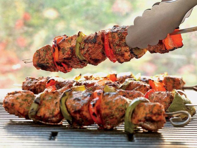food, kabab, paneer kabab, royal, streets, vegetarian, nonvegetarian, palace, Kebab