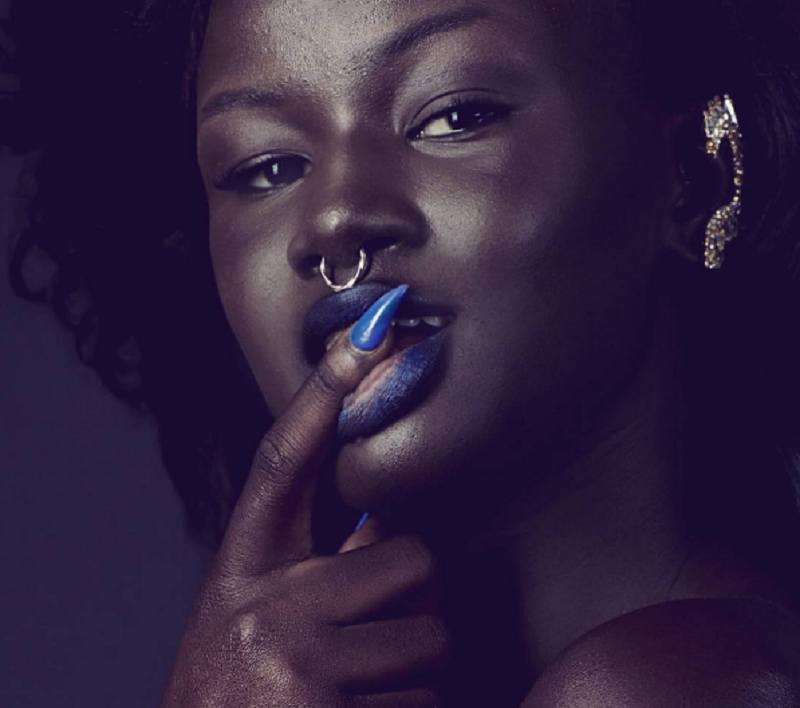 khoudia diop, senegal, model, melanin goddess, instagram