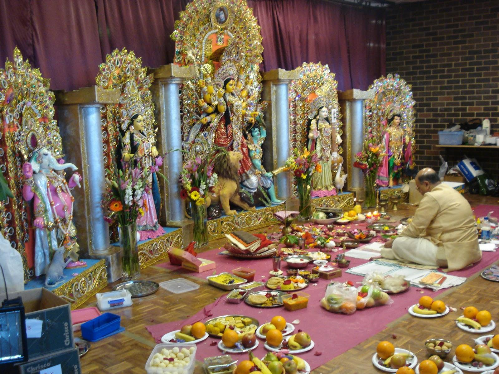 Durga puja, Shashti, bengali, Festival, Indian, Goddess Durga