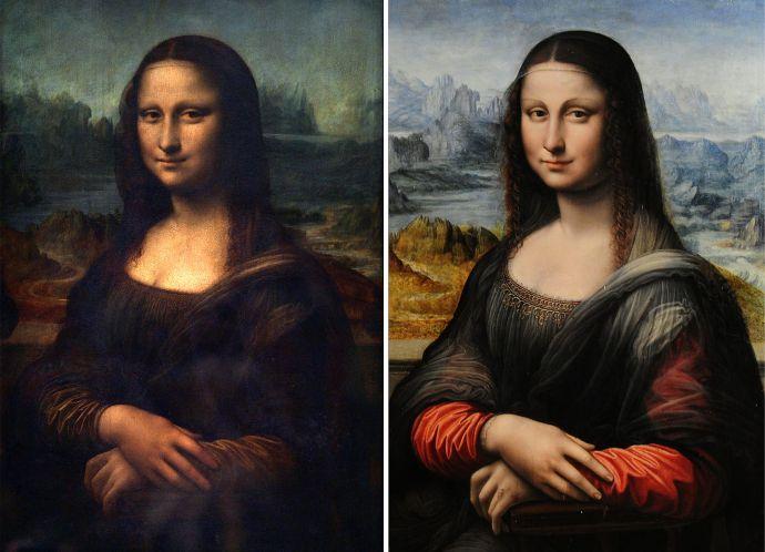 America, Mona Lisa, Leonardo Da Vinci, Painting, history, 1962