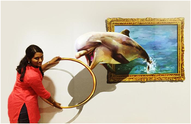 Shrinks People, People, 3D Art, 3D, Museum, Museum In Chennai, India, India's First Interactive 3D Art Museum, 3D Museum, Chennai, Mr. Shreethar, Museum In India