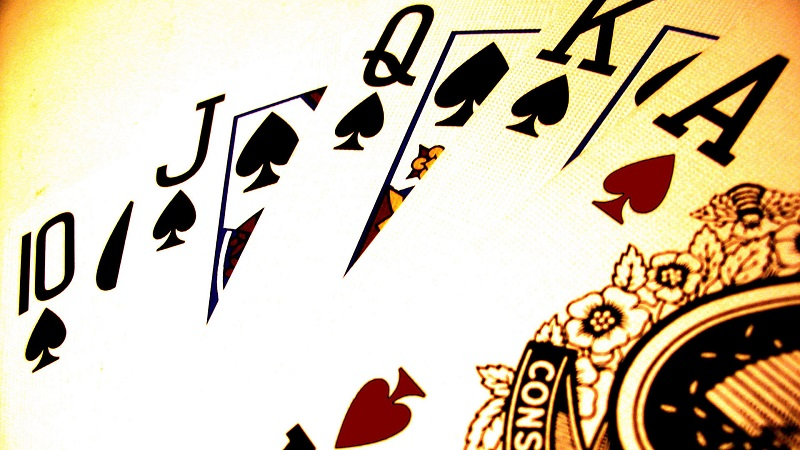 Odds, Royal Flush, Poker, Luck, Lightning