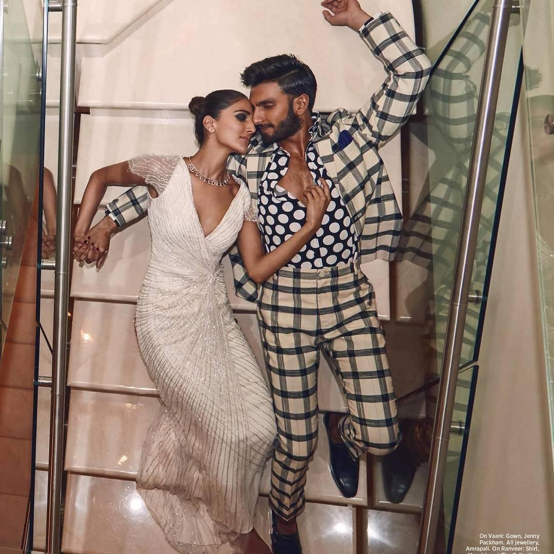 Vaani Kapoor, Ranveer Singh, Befikre, Bollywood, Entertainment, Photoshoot, Harper's Bazaar Bride