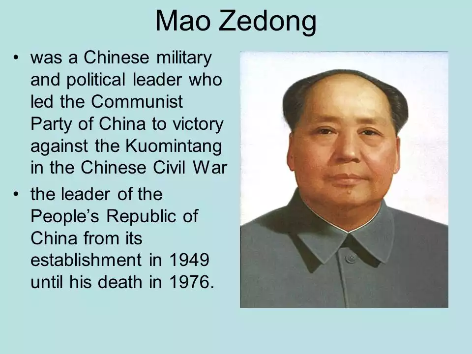 an analysis of the chinese communist ideas by mao zedong and cultural revolution A book of selected statements from speeches and writings by mao zedong (mao tse-tung), the former chairman of the communist party of china, published from 1964 to about 1976 and widely distributed during the cultural revolution.