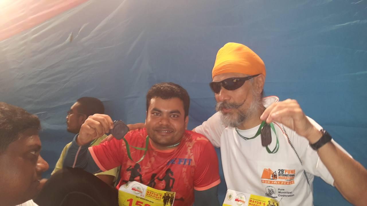 Visually-impaired, Sporty Sikh, Marathon race, National Ophthalmology Institute (NOI), Macular Degeneration, Dolma La Pass
