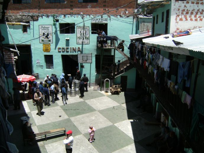 Bolivia, prison, inmates, crime, La Paz, San Pedro, La Posta, drugs, cocaine, jail, society, community, San Pedro prison, Humane Prison, Weird Prisons, Unique Rehabilitation cells, Strange Imprisonments