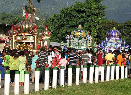 muharram, ashura, trinidad, tobago, hosay, indian, muslims, hindus