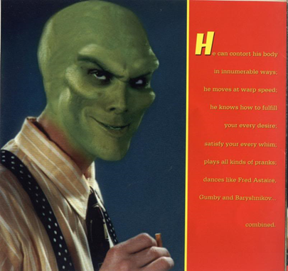 The Mask, Mask, Jim Carrey