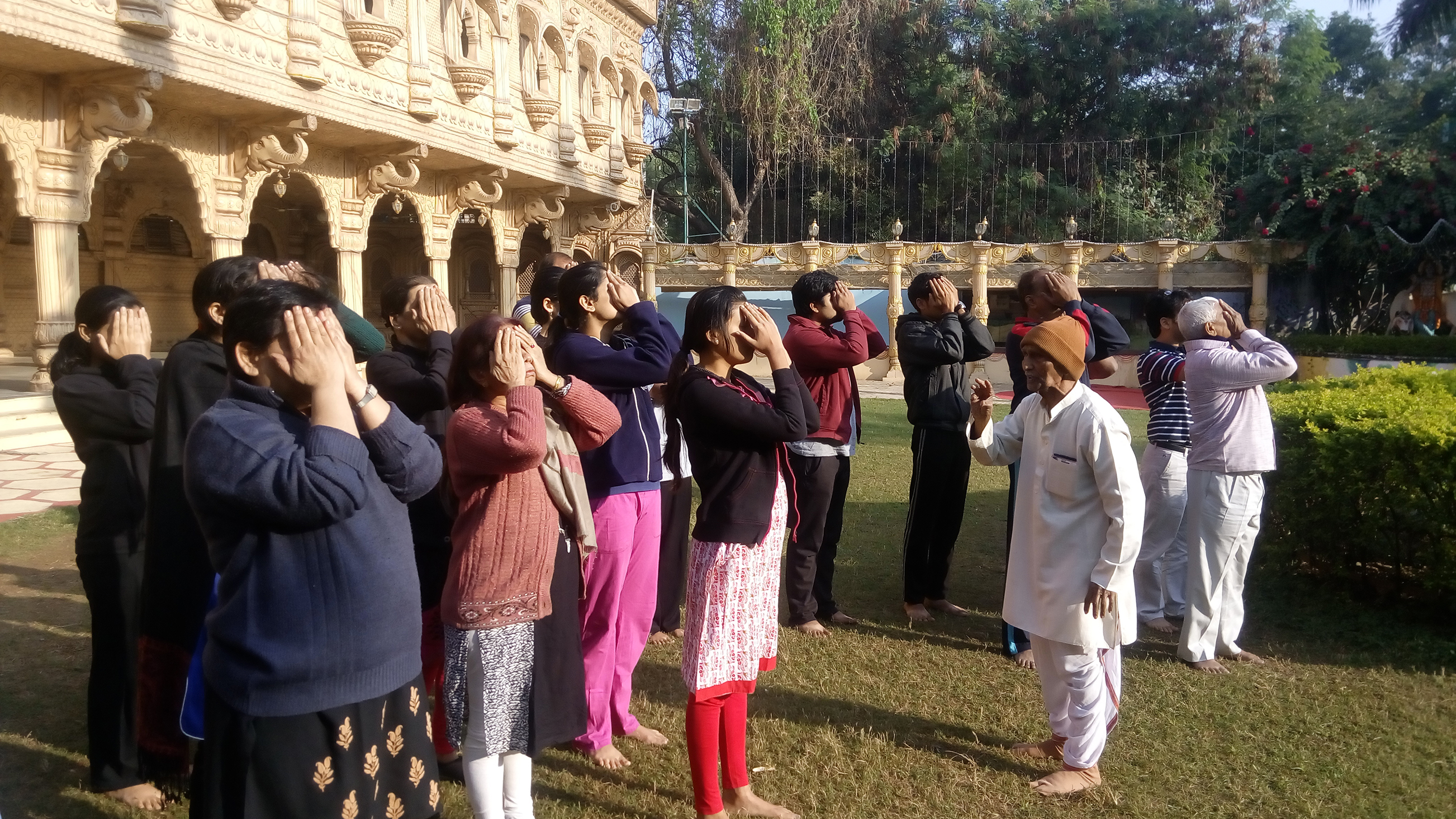 Renovatio, 100 days Yogathon, 3rd yoga workshop under this series., Nahpur