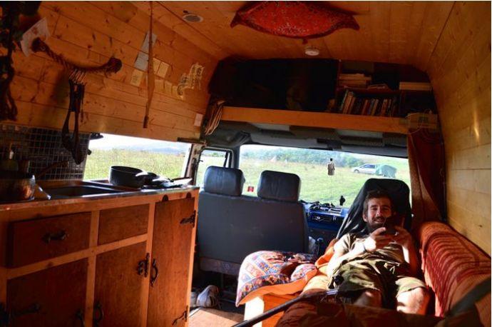 Job, Van, Travel, World, Mike Hudson, England, 2013