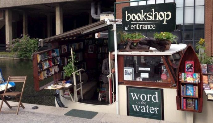 Image result for bOOK BARGE