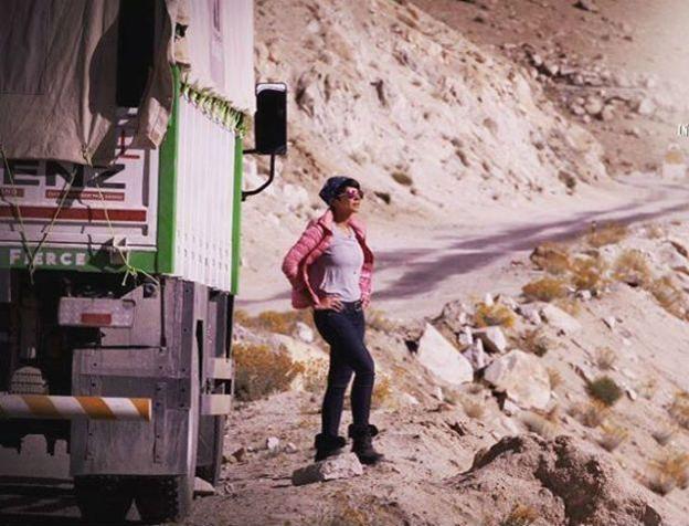 Mandira Bedi, Leh, Manali, Ice Road Truckers, History Channel, Mandira