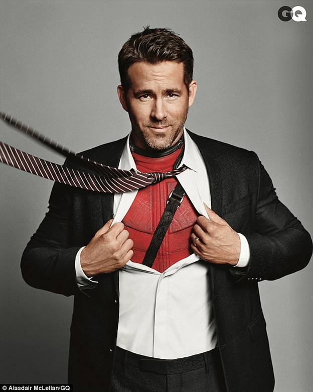 Deadpool, GQ, Man Of The Year, Ryan Reynolds