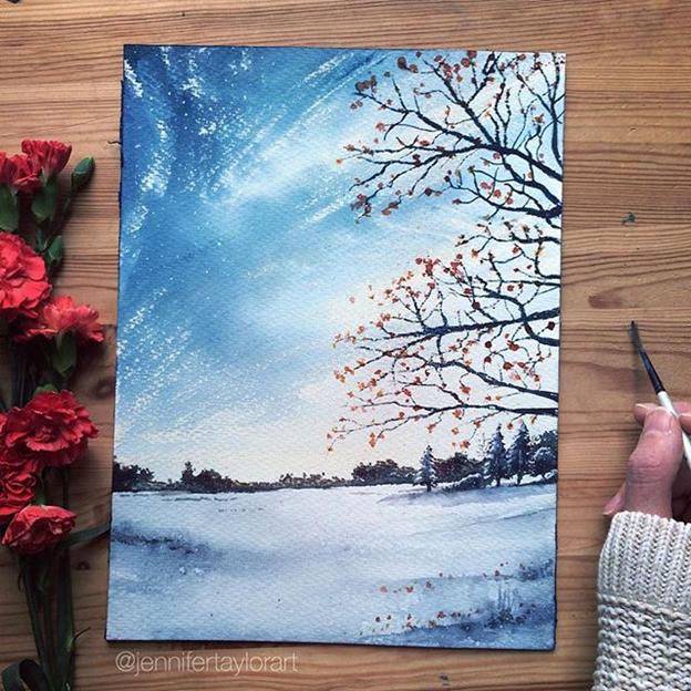 Jennifer Taylor, Painting, Art