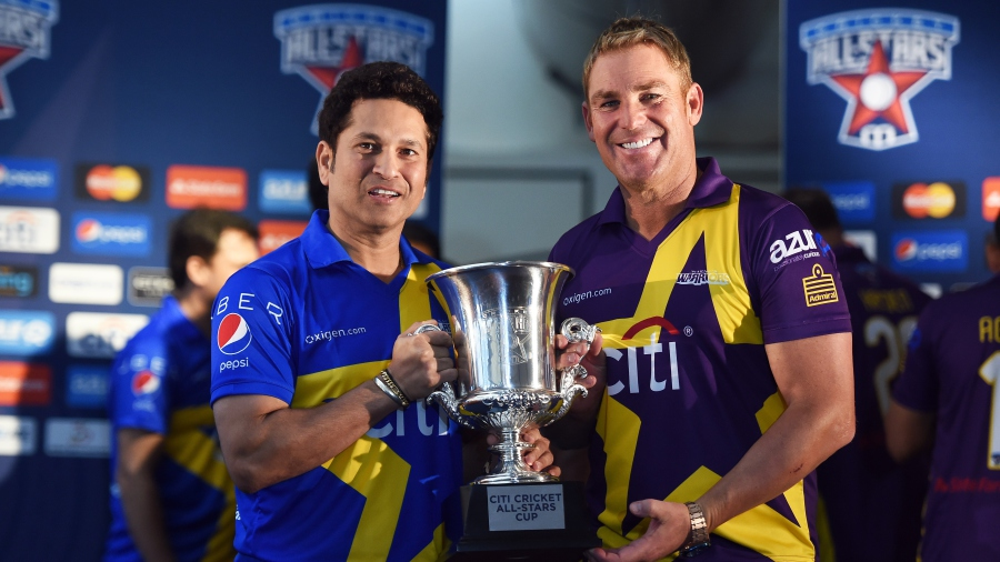 Cricket, Cricket All Stars, Shane Warne, Sachin tendulkat, USA