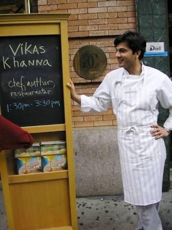 Vikas Khanna, Buries Seeds, Junoon, Michelin Star, andrei severny, cannes film festival