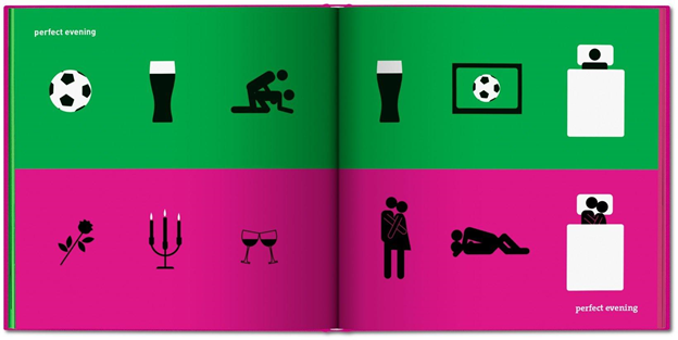 Gender Equality, Pictograms, Witty, Stereotypes, Yang Liu