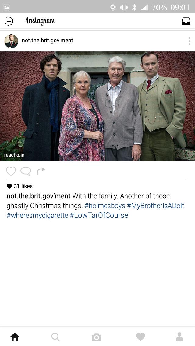 Sherlock, BBC, Baker Street, Instagram, Insta, Mycroft Holmes, John Watson, Jim Moriarty, Irene Adler