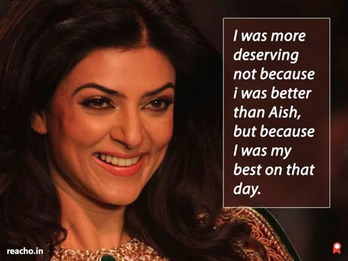 Sushmita Sen, Woman, Bollywood, Actress, Quotes, Life