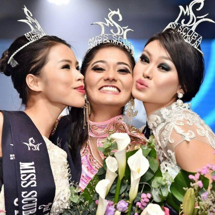 Pune, Varsha Rajkhowa, Malaysia, Beauty Paegent, Miss Scuba International 2016, Varsha Rajkhowa From Pune, Miss Scuba International 2016 Winner