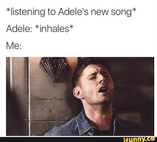 Adele, Hello, Anniversary, Meme