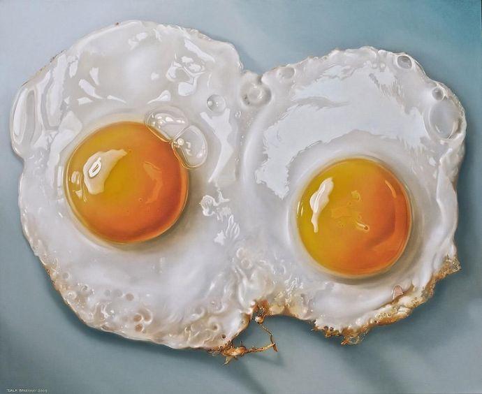 Tjalf Sparnaay, Painting, Art, food, Hunger, Skill, Dutch