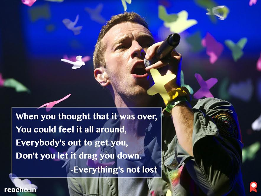 Coldplay, Mood, Songs, Lyrics, Misery, Entertainment