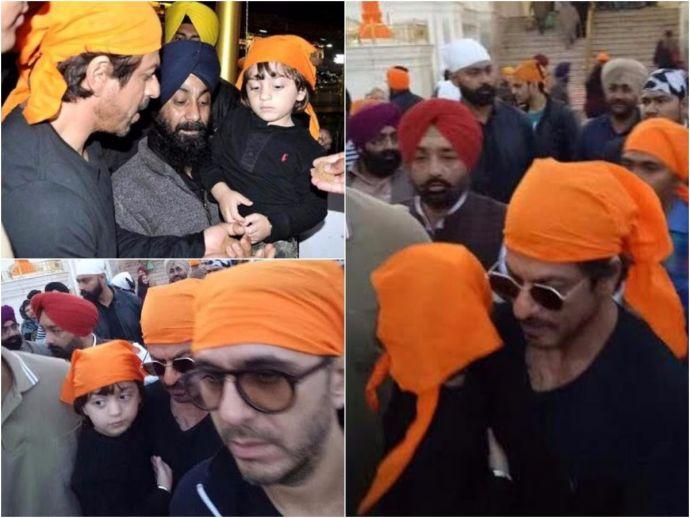 Shah Rukh Khan, AbRam, Raees, Golden Temple, Amritsar, Ritesh Sidhwani