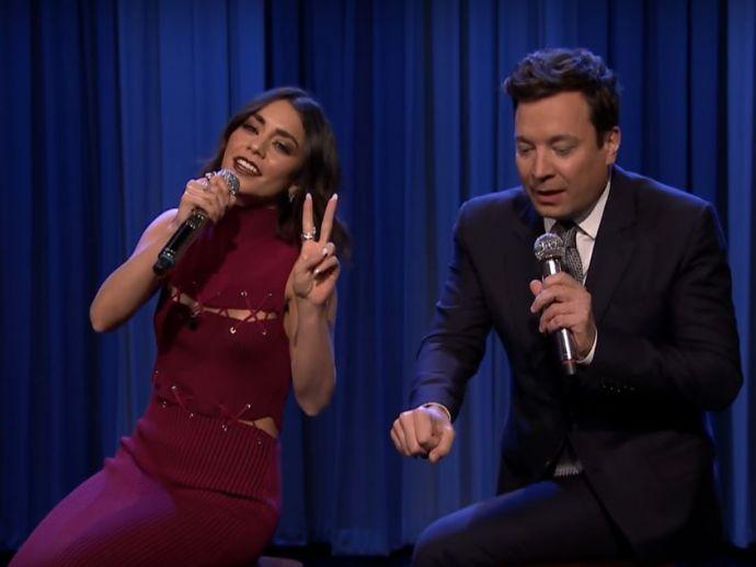 Friends, Vanessa hudgens, Jimmy Fallon, The Tonight Show, NBC
