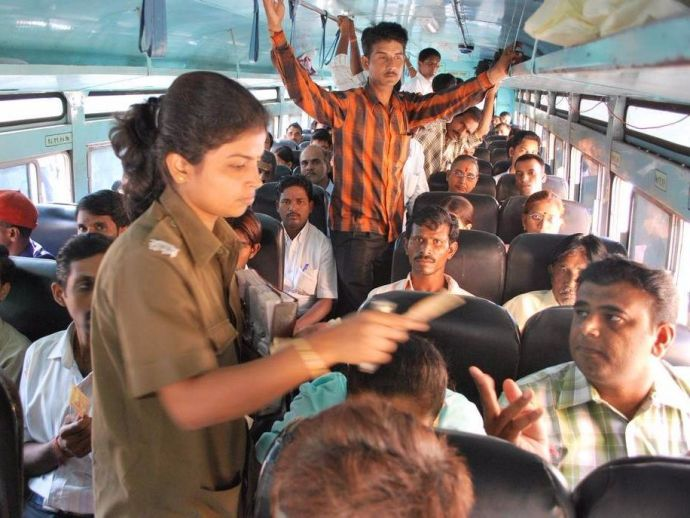 Kerala Women Bus Conductors, Wage Partiality, The Kerala State Private Bus Operators' Federation, Kudumbashree scheme